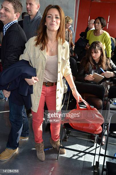 Elsa Fayer attends the Reebok Crossfit Press Conference And Cocktail at Cafe Le Georges on March 13 2012 in Paris France