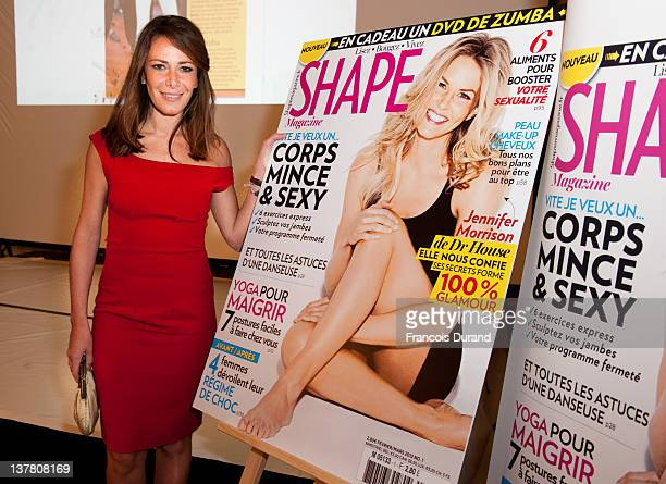 Elsa Fayer attends the 'Shape France' Magazine Cocktail Launch at Hotel Talleyrand on January 19 2012 in Paris France