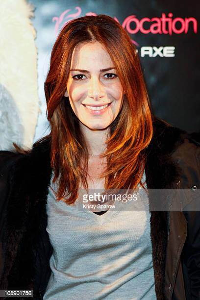 Elsa Fayer attends the 'TRON Legacy 3D' Premiere Hosted By Axe Provocation at Cinema Elysee Biarritz on February 7 2011 in Paris France