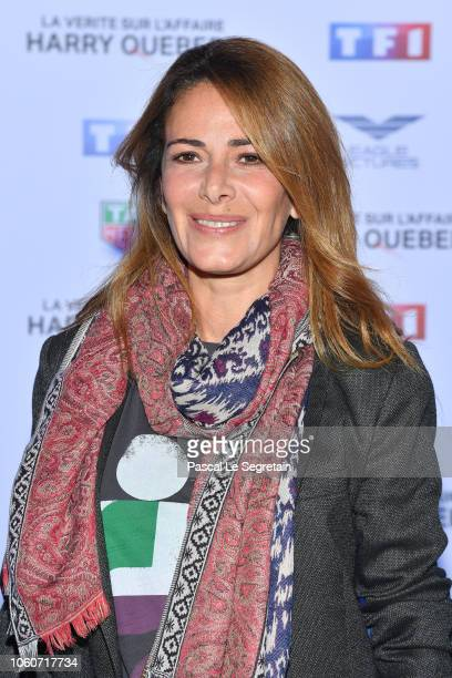 Elsa Fayer attends The Truth About The Harry Quebert Affair Premiere at Cinema Gaumont Marignan on November 12 2018 in Paris France