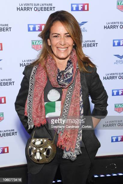 Elsa Fayer attends 'The Truth About The Harry Quebert Affair' Premiere at Cinema Gaumont Marignan on November 12 2018 in Paris France