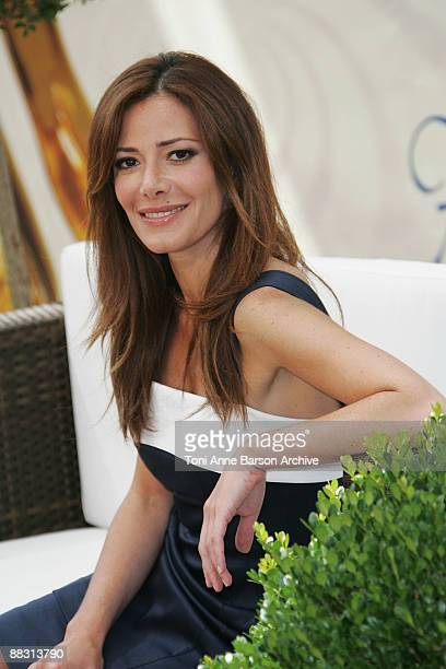 Elsa Fayer poses during the 49th Monte Carlo Television Festival at the Grimaldi Forum on June 8 2009 in MonteCarlo Monaco