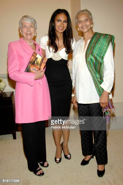 Elsa Honig Fine Susan FalesHill and Grace Hope Hill attend Susan FalesHill's ONE FLIGHT UP Book Launch Party at 15 Central Park West on July 21st...