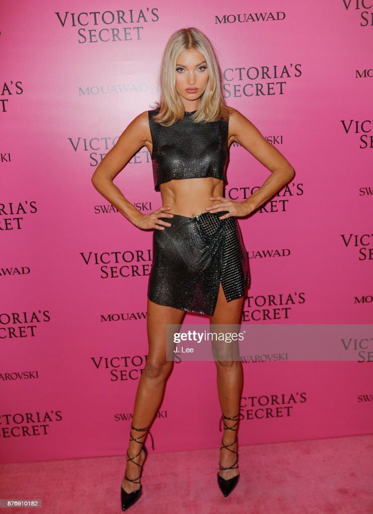 Elsa Hosk at the 2017 Victoria's Secret Fashion show afterparty on November 20, 2017 in Shanghai, China.