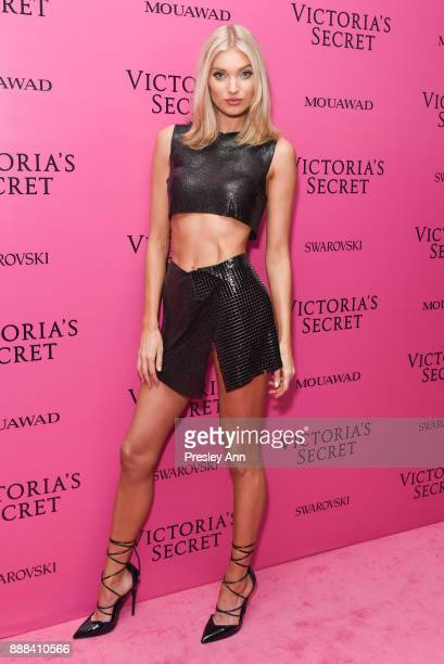 Elsa Hosk attends 2017 Victoria's Secret Fashion Show In Shanghai After Party at MercedesBenz Arena on November 20 2017 in Shanghai China