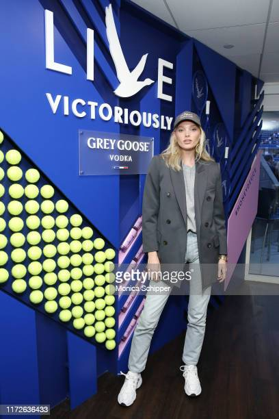 Elsa Hosk attends as Grey Goose toasts to the 2019 US Open at Arthur Ashe Stadium on September 05 2019 in New York City