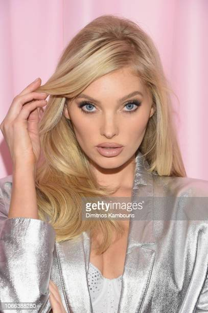 Elsa Hosk attends as VS Angels celebrate the Victoria's Secret Fashion Show airing December 2 on the ABC Television Network at the new VIP Runway...