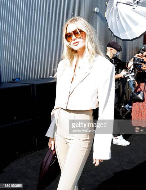 Elsa Hosk attends DUNDAS x REVOLVE NYFW Runway Show Casa Cipriani on September 08, 2021 in New York City.