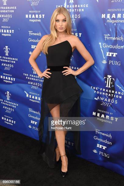 Elsa Hosk attends the 2017 Fragrance Foundation Awards Presented By Hearst Magazines at Alice Tully Hall on June 14 2017 in New York City