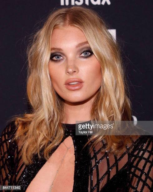 Elsa Hosk attends the 2017 Harper ICONS party at The Plaza Hotel on September 8 2017 in New York City