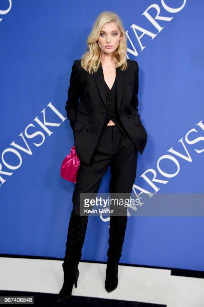 Elsa Hosk attends the 2018 CFDA Fashion Awards at Brooklyn Museum on June 4 2018 in New York City