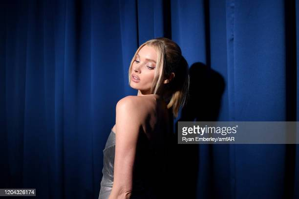 Elsa Hosk attends the 2020 amfAR New York Gala at Cipriani Wall Street on February 05 2020 in New York City