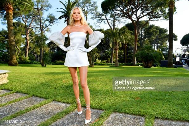Elsa Hosk attends the amfAR Cannes Gala 2019 at Hotel du Cap-Eden-Roc on May 23, 2019 in Cap d'Antibes, France.