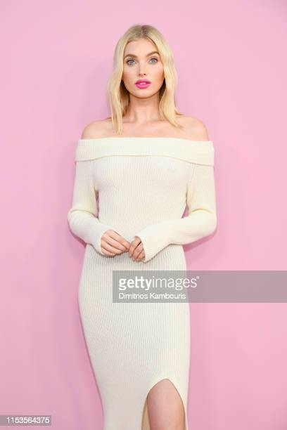 Elsa Hosk attends the CFDA Fashion Awards at the Brooklyn Museum of Art on June 03 2019 in New York City