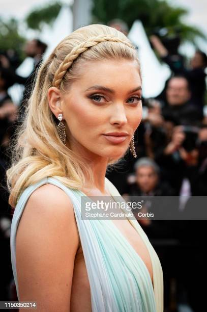 """Elsa Hosk attends the screening of """"A Hidden Life """" during the 72nd annual Cannes Film Festival on May 19, 2019 in Cannes, France."""