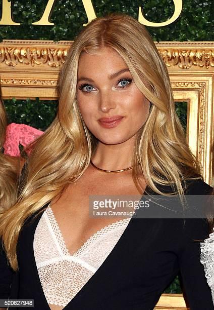 Elsa Hosk attends Victoria's Secret Bralette Collection Launch at Victoria's Secret Herald Square on April 12 2016 in New York City