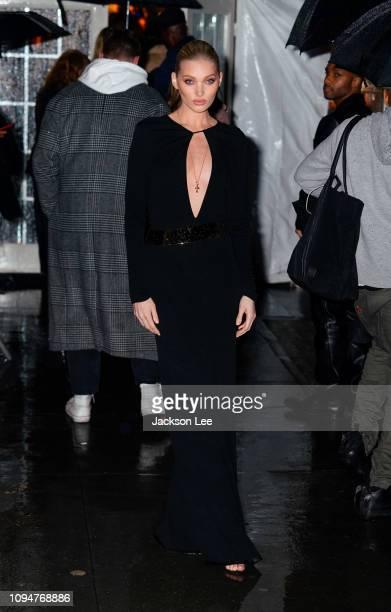 Elsa Hosk is seen at amFAR gala on February 6 2019 in New York City