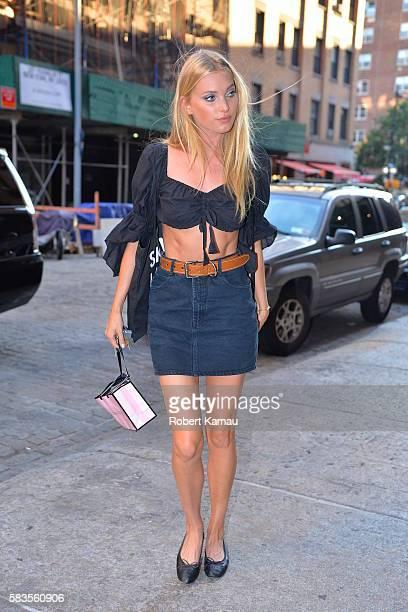 Elsa Hosk seen out in Manhattan on July 26 2016 in New York City