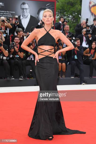 """Elsa Hosk walks the red carpet ahead of the Opening Ceremony and the """"La Vérité"""" screening during the 76th Venice Film Festival at Sala Grande on..."""