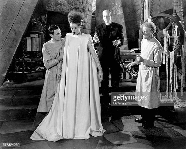 Elsa Lanchester As Bride Of Frankenstein