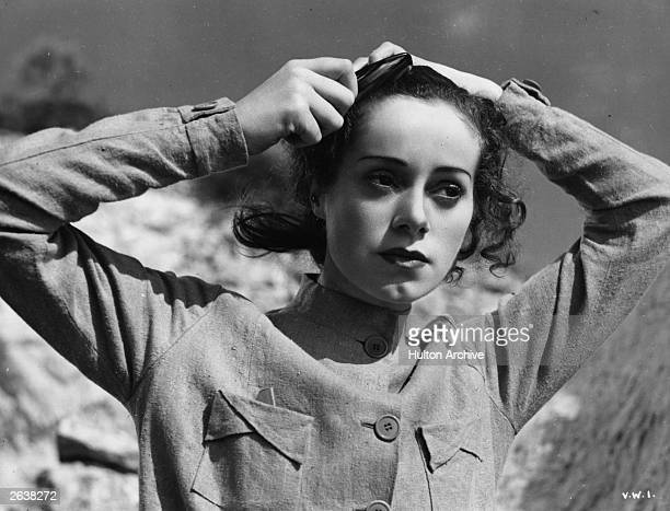 Elsa Lanchester born Elizabeth Sullivan the British character actress in a scene from 'Vessel Of Wrath' adapted from the story by W Somerset Maugham...