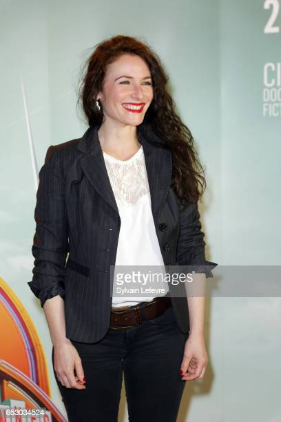 Elsa Lunghini attends 1st day photocall of Valenciennes Cinema Festival on March 13 2017 in Valenciennes France