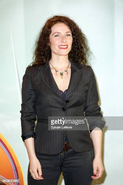 Elsa Lunghini attends the 3rd day of Valenciennes Cinema Festival on March 15, 2017 in Valenciennes, France.