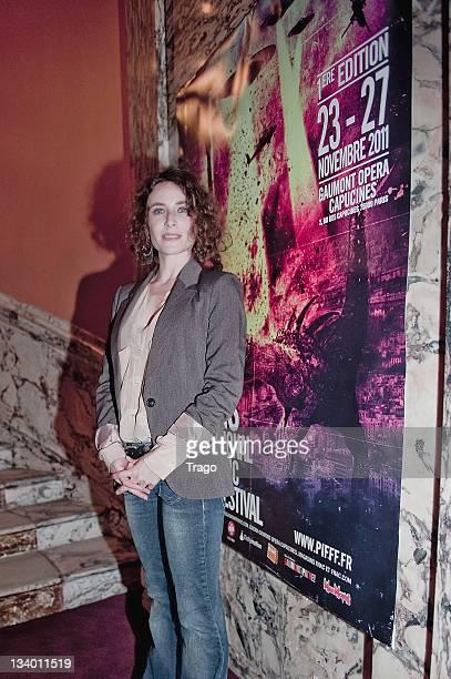 Elsa Lunghini attends the Paris International Fantastic Film Festival at Cinema Gaumont Opera on November 23, 2011 in Paris, France.