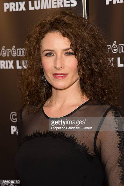 Elsa Lunghini attends the The 20th Lumieres Awards Ceremony at Espace Pierre Cardin on February 2 2015 in Paris France