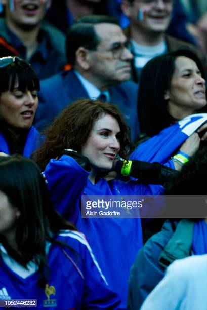 Elsa LUNGHINI during the international friendly match between France and Belgium on May 18, 2002 at Stade de France in France.