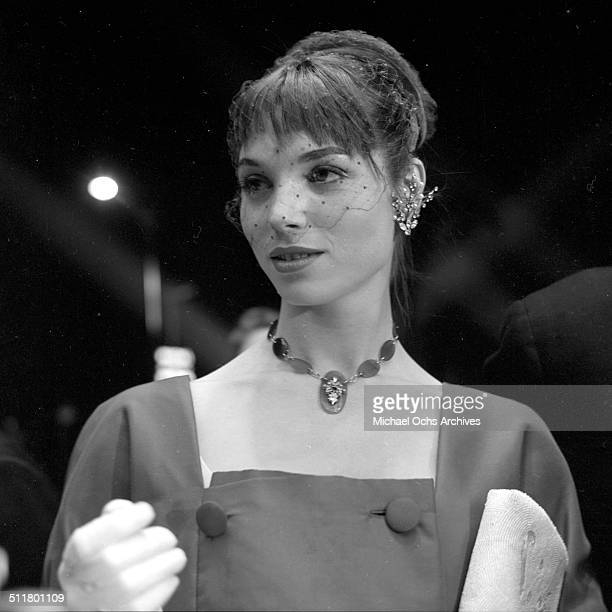 Elsa Martinelli attends a party in Los AngelesCA