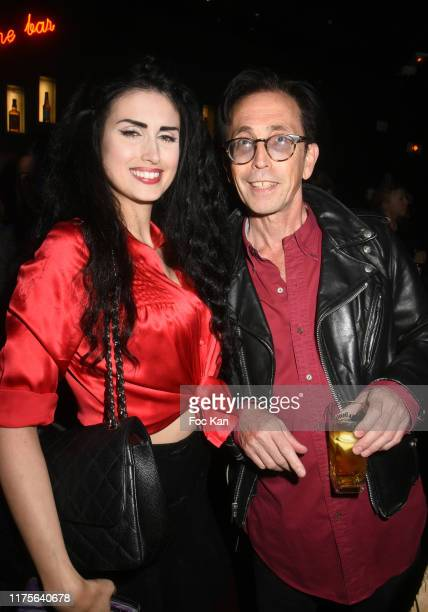 Elsa Oesinger and Natan Hercberg attend BB Brunes Concert Party Hosted By Technikart Magazine At Bus Palladium  on September 18 2019 in Paris France
