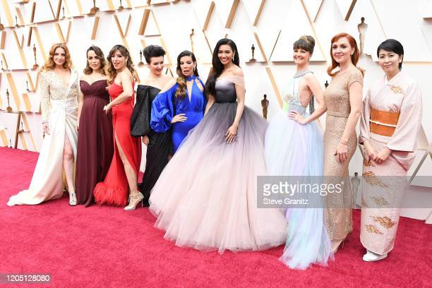 Elsa of Disney's Frozen international voice actresses attends the 92nd Annual Academy Awards at Hollywood and Highland on February 09 2020 in...