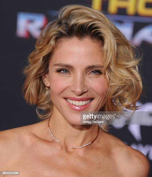 Elsa Pataky arrives at the premiere of Disney and Marvel's 'Thor Ragnarok' at the El Capitan Theatre on October 10 2017 in Los Angeles California