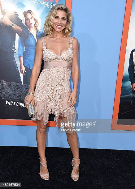 Elsa Pataky arrives at the Premiere Of Warner Bros 'Vacation' at Regency Village Theatre on July 27 2015 in Westwood California
