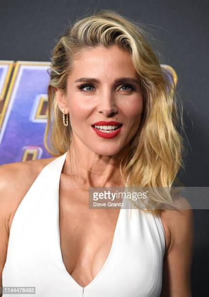 Elsa Pataky arrives at the world premiere Of Walt Disney Studios Motion Pictures Avengers Endgame at Los Angeles Convention Center on April 22 2019...