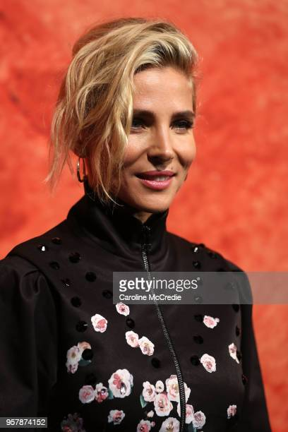 Elsa Pataky arrives for the MercedesBenz Presents Camilla And Marc show at MercedesBenz Fashion Week Resort 19 Collections at the Royal Hall of...