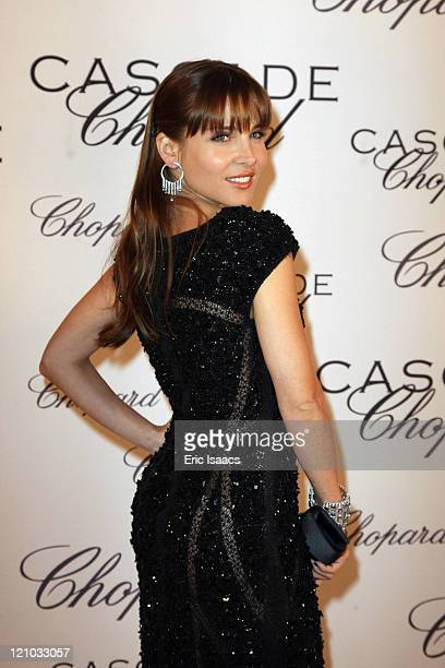 Elsa Pataky attends at Chopard Belle Du Nuit Dinner during the 62nd International Cannes Film Festival on May 13 2009 in Cannes France