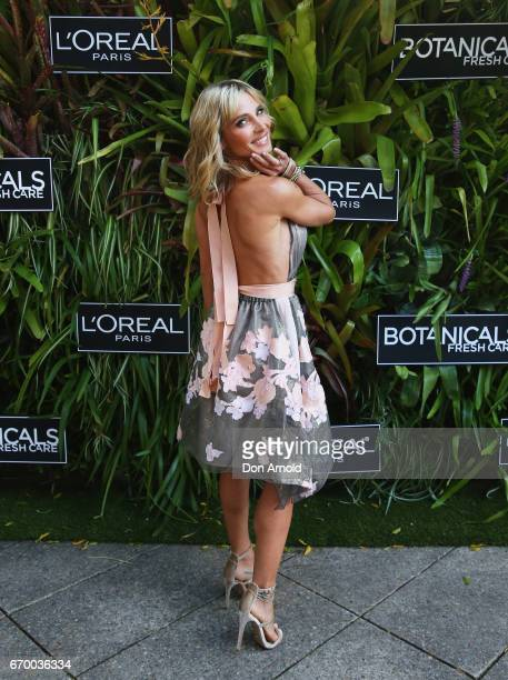 Elsa Pataky attends the Botanicals Fresh Care Ambassador Launch on April 19 2017 in Sydney Australia