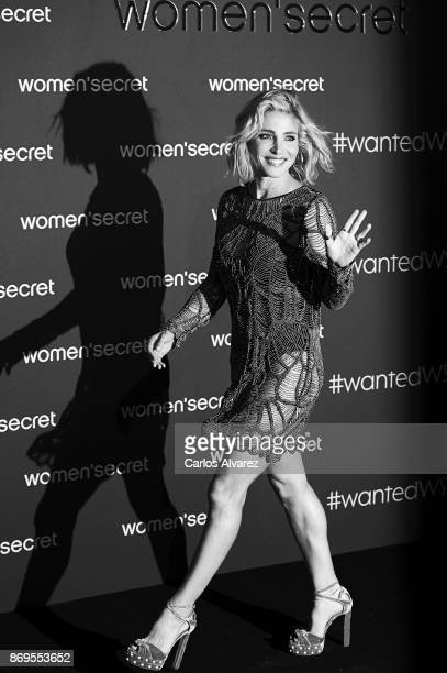 Elsa Pataky attends the event Women'Secret Night to present the campaign Wanted on November 2 2017 in Madrid Spain