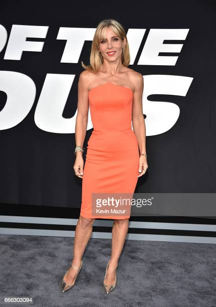 Elsa Pataky attends 'The Fate Of The Furious' New York premiere at Radio City Music Hall on April 8 2017 in New York City