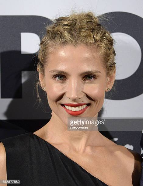 Elsa Pataky attends the 'Gioseppo' 25th Anniversary Party at Callao Cinema on March 3 2016 in Madrid Spain