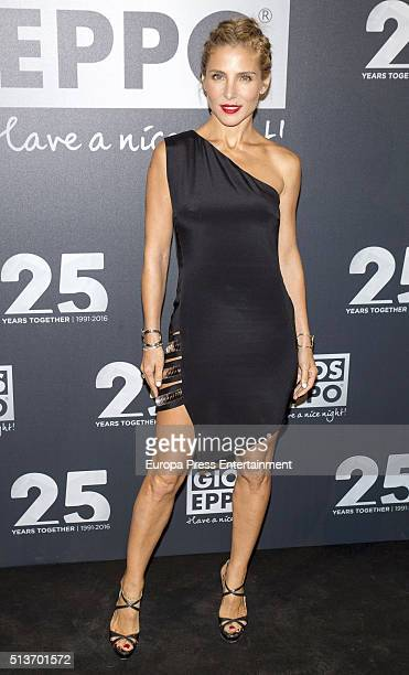 Elsa Pataky attends the 'Gioseppo' 25th Anniversary Party on March 3 2016 in Madrid Spain