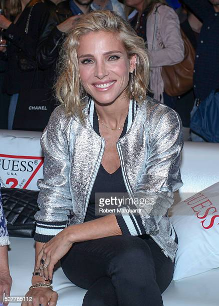 Elsa Pataky attends the Guess denim day party on May 3 2016 in Barcelona Spain