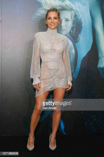 Elsa Pataky attends the premiere of the first Australian Netflix original series Tidelands on December 10 2018 in Sydney Australia