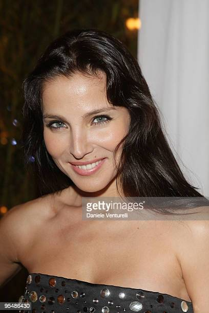 Elsa Pataky attends the third day of the 14th Annual Capri Hollywood International Film Festival on December 29 2009 in Capri Italy