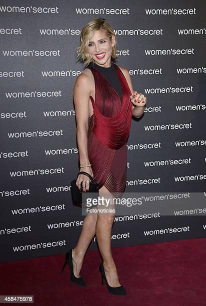 Elsa Pataky attends the Women Secret's 'Dark Seduction' fashion film premiere at Callao Cinema on November 5 2014 in Madrid Spain