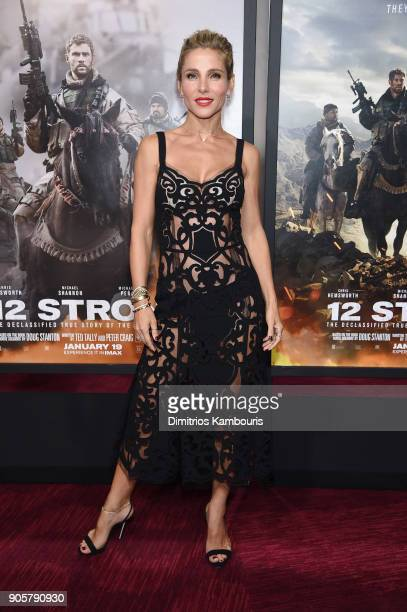 Elsa Pataky attends the world premiere of 12 Strong at Jazz at Lincoln Center on January 16 2018 in New York City