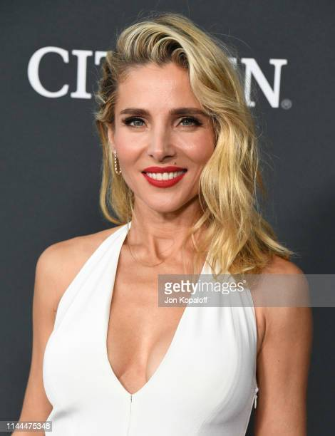 Elsa Pataky attends the World Premiere Of Walt Disney Studios Motion Pictures Avengers Endgame at Los Angeles Convention Center on April 22 2019 in...