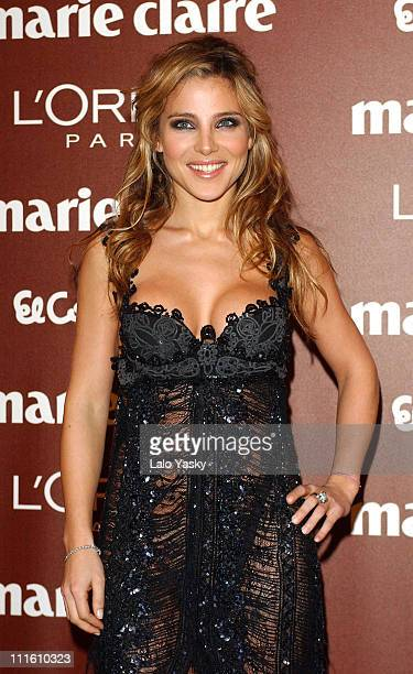 Elsa Pataky during 2004 Marie Claire Prix de la Mode Ceremony at French Ambassador Residence in Madrid Spain